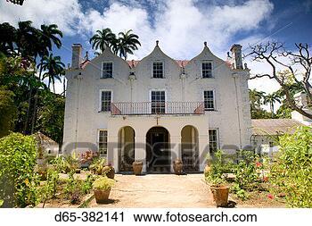 ... Museum / Old Sugar Plantation House b.1650). Plantation House Exterior