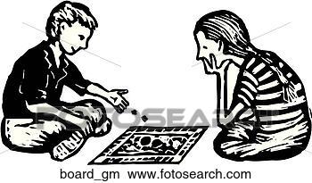 Board Games Clipart