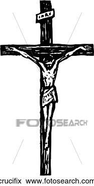 Clip art crocifisso crucifix cerca clipart poster - Libero clipart storie della bibbia ...