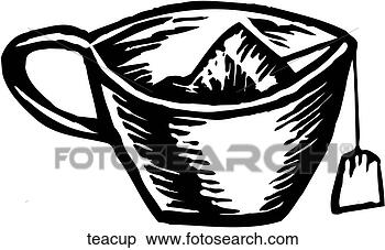 teacup art parts clip art