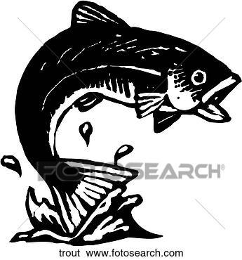 剪贴画 - 鲑属鱼类鱼