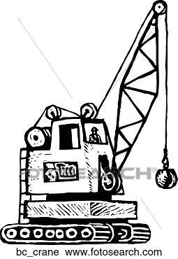 Clipart - Crane Operator. Fotosearch - Search Clip Art, Illustration ...