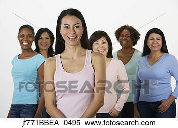 团体, 多少数民族成员, 妇女 jf771bbea 0495 搜索照片 壁饰图片 摄