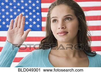 前面 美国人
