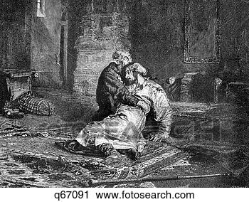 Ivan the terrible ivan iv vasilievich the first czar tsar of russian