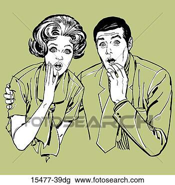 Y'a déja longtemps dans BONJOUR ET BIENVENUE couple-regarder-surpris_~15477-39dg