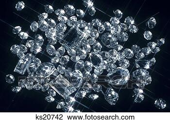 Stock Photo - Diamonds. Fotosearch - Search Stock Photography, Print Pictures, Images, and Photo Clip Art