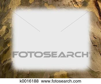 Stock Illustration of Camouflage Border k0016188 - Search EPS Clip Art ...