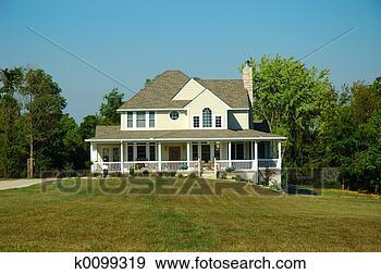 美国农场房子图片_美国