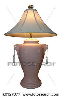 الأباجورة~ قطعة الديكور الساحرة lighted-lamp_~k01270