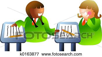 Picture - classroom chat. fotosearch - search stock photos, pictures, images, and photo clipart