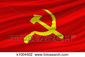 Stock Photo - red flag. fotosearch  - search stock  photos, pictures,  images, and photo  clipart