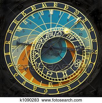 Banque de Photo - astronomique, horloge. fotosearch - recherchez des photos, des images et des cliparts