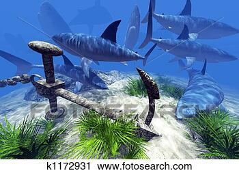 饥饿,学校,鲨鱼不了插图创意手绘图、手绘图看哔放大漫画咔图片