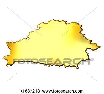 黄金, 地图