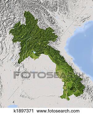 老挝, 遮掩,