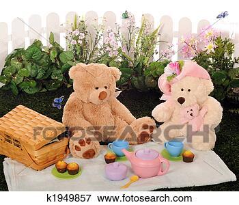 图片- 玩具熊, 野餐