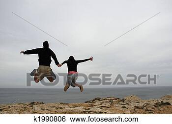Banque de Photo - saut. fotosearch  - recherchez des  photos, des images  et des cliparts