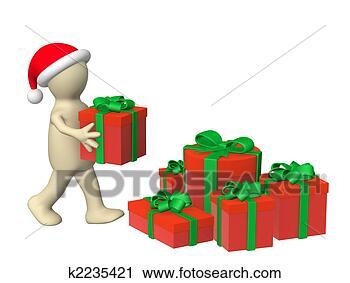 剪贴画 - 准备, 为, 圣诞节