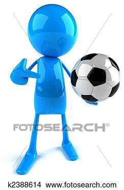 手绘图 - 足球