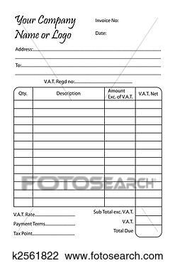 Invoice Clip Art