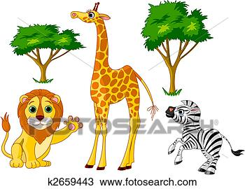 手绘图 - 野生动物, 1