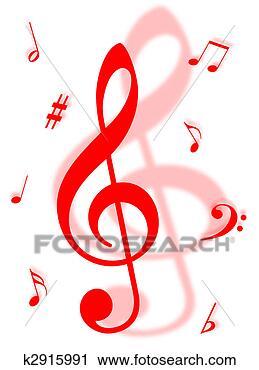 免版税(rf)类图片 - 音乐符号
