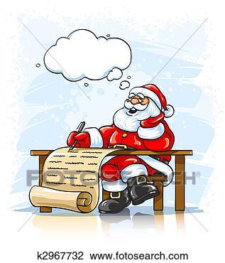 剪贴画 - 圣诞老人, 作品