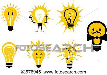 关于电灯泡试验图片 电灯泡卡通图 电灯泡头像 电灯泡简笔画 电灯泡