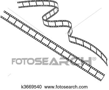Stock illustration roll film fotosearch search clipart