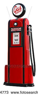 stock photo   1950s gas pump  fotosearch   search stock photos  pictures