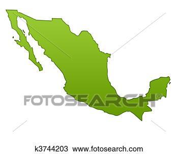 绘图- 墨西哥 地图