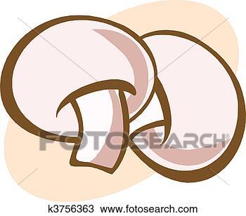 手绘图 - 蘑菇