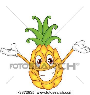 卡通漫画, 菠萝
