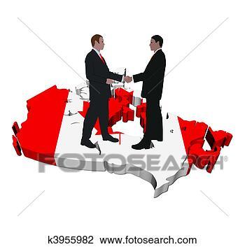 手, 加拿大