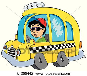 出租汽车驾驶员, -, 矢量