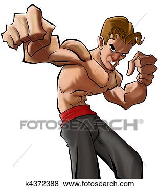 卡通肌肉猪头像