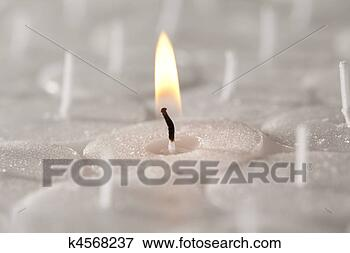 Picture - Church / Tea Candles Close Up. Fotosearch - Search Stock Photography, Photos, Prints, Images, and Photo Clipart