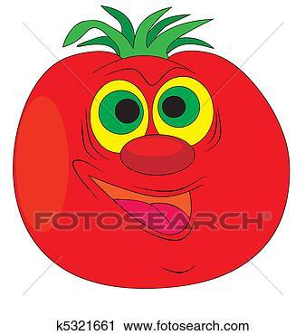 剪贴画 - 番茄