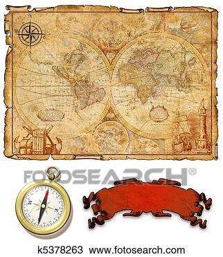 古代, 地图,