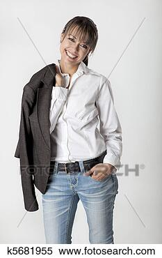 Stock Image - lovely smile.  fotosearch - search  stock photos,  pictures, wall  murals, images,  and photo clipart