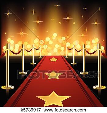 Banque d'Illustrations - rouges, moquette, étoiles. Fotosearch - Recherche de Cliparts au Format EPS, de Dessins, d'Illustrations et d'Images Vectorisées