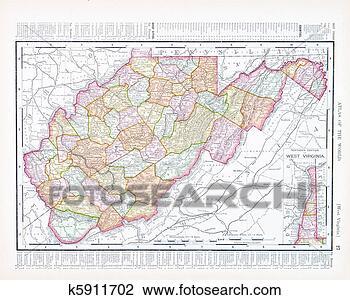 地图 西方