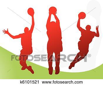 篮球背景边框图片