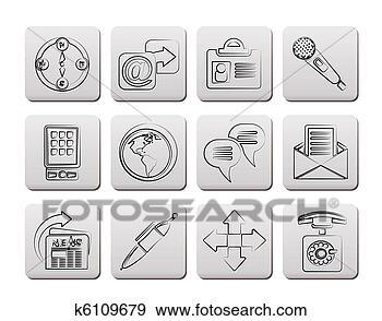blog, tine, 信件, 信封, 全球, 写, 办公室, 商业, 因特网, 图标, 地球, 媒介, 对应, 技术, 报纸, 指南针, 按钮, 放置, 新闻, 标识符, 消息, 电子邮件, 电话, 矢量, 站点, 符号, 等同性, 签署, 箭, 网, 网站, 联系, 聪明, 菜单, 行星, 计算机, 讨论, 话筒, 谈话, 运载工具, 通信, 邮件, 钢笔, 插画,图画,剪贴画,图像,图片,绘图,美术作品, 免版税, k6109679