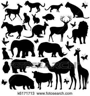 动物手绘图 diy相册设计手绘图 简单的手绘图案图片