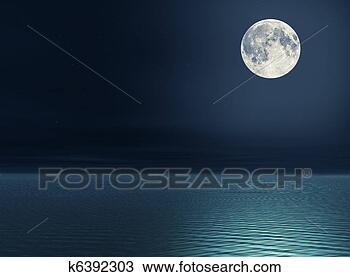 月亮, 结束,