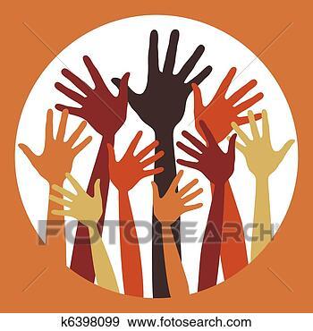 eps10, help, 乐趣, 人, 人们, 人类, 人群, 会议, 侧面影象, 党, 到达, 向上, 团体, 图表, 圆, 女性, 学问, 孩子, 帮助, 志愿者, 快乐, 慈善, 手, 手指, 投票, 拇指, 描述, 提高, 收集, 教育, 有用, 桔子, 概述, 波浪, 环绕, 男性, 矢量, 红, 绿色, 胳臂, 艺术, 许多, 设计, 选举, 黑色, 插画,图画,剪贴画,图像,图片,绘图,美术作品, 免版税, k6398099
