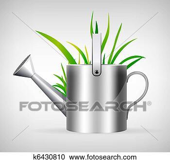 失量图库 - 喷壶. fotosearch - 搜寻创意花式边框图片