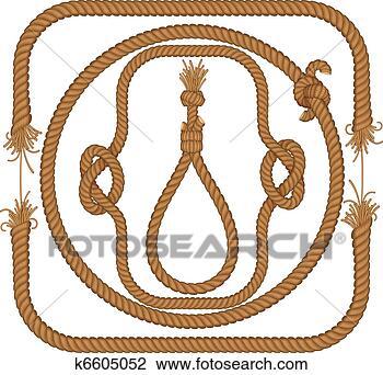 美工图案 - 绳子, 框架图片